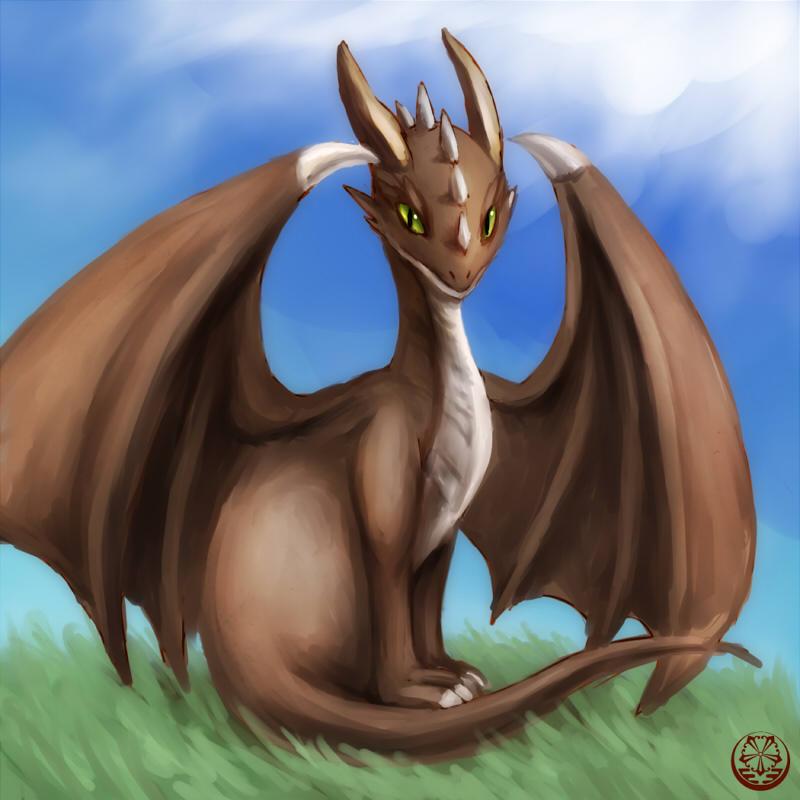 ドラゴン習作